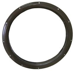 Round Shed Window Brown Flush Playhouse Window 3 Sizes to Ch