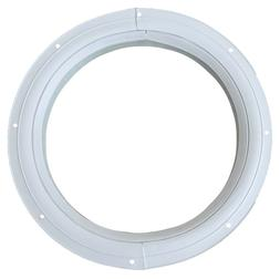 Round Shed Window White Flush Playhouse Window 3 Sizes to Ch