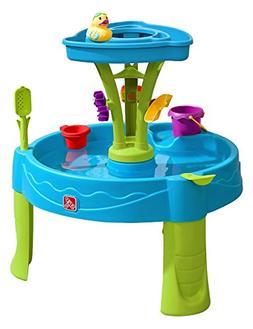 Step2 897400 Summer Showers Splash Tower Water Table, Blue