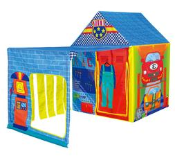 Super Garage Play Tent Kids Pretend Mechanic Playhouse Child