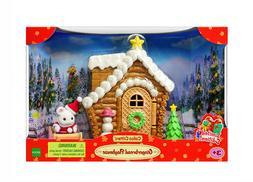 Sylvanian Families Calico Critters Santa Gingerbread Playhou