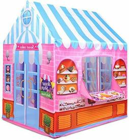 Kiddie Play Tent for Kids Candy Playhouse Boys & Girls Indoo