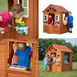 Backyard Discovery Timberlake Playhouse