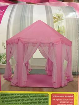 Tipi Children's Toy Tents for Kids Game Castle Play House Si