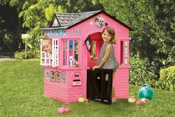 Toddler Playhouse Indoor Outdoor Cottage Kid Child Toy Play