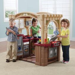 Walk In Play Kitchen Toy Set for Kids Toddler Small Child Pr