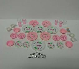 VINTAGE 1990's BARBIE FUN FIXIN ACC SET DISHWASHER SET DISHE